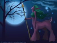 DOTA Enchantress Dryad Warcraft Wallpaper