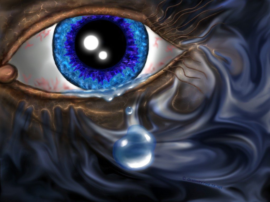 Teardrop - digital art | wallpaper | backgrounds